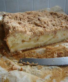 Appelcake met kruimeltopping
