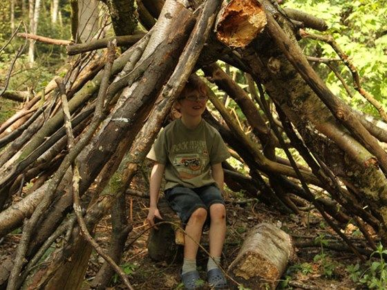 Den building tips for children from the Woodland Trust. They even have an option to send in pictures of your own den! Encourages children to get involved with the wider conservation community.