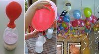Egal zu welchem Anlass, wenn man ein Fest feiert, gehören Luftballons einfach dazu. Vor allem auf Kindergeburtstagen sind Ballons ein echtes Muss. Oft werden die Ballons dann mit Hilfe von Helium aufgeblasen, damit sie schön unter der Decke schweben. Jedoch hat nicht jeder zu Hause eine Flasche mit Helium herumstehen. Wenn auch du keine Heliumflasche zur Hand hast und auch keine Lust hast eine für teures Geld zu mieten, dann gibt es auch noch einen anderen Weg, um deine Ballons schweben zu…