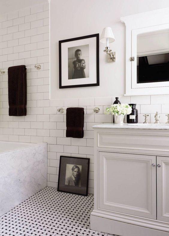 the 25+ best white tiles black grout ideas on pinterest | outside