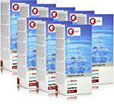 8x Bosch TCZ6002 Entkalkungstabletten für Kaffee Vollautomaten
