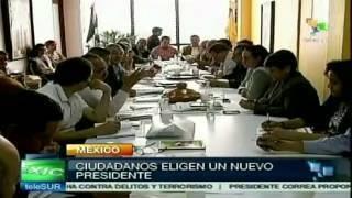 Inicia jornada histórica de elecciones en #México