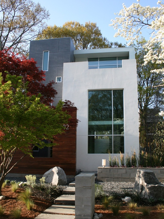 17 best images about modern house ideas on pinterest for Stucco design ideas