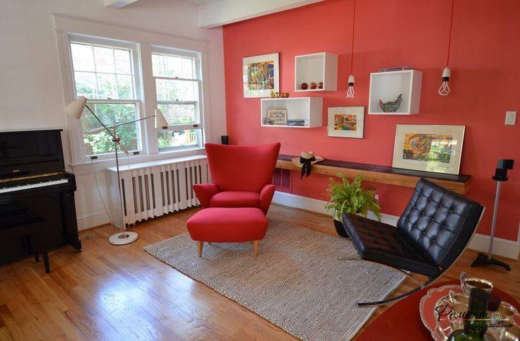 Декор стен в гостиной: красивые примеры оформления интерьера комнаты на фото