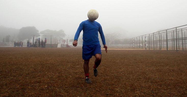Trocaram a cabeça do jogador em Agartala, capital do Estado de Tripura, na Índia