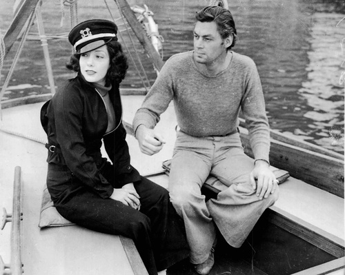 Hollywood couple Lupe Velez & Johnny Weissmuller, 1935