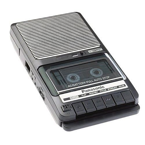 First tape recorder looked like this