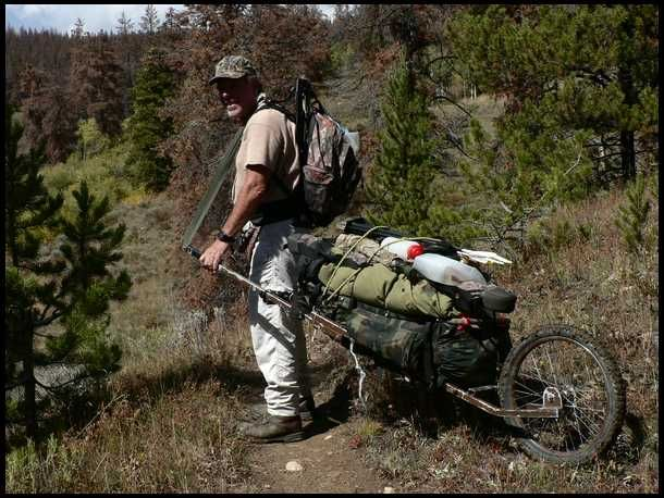 travois game cart / backpacking cart - Google Search
