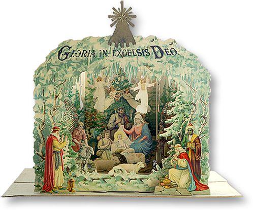 Musical Angelic Host Nativity - Blogs - PaperModelKiosk.com   UNBEDINGT ANSCHAUEN _ WEIHNACHT   ganzer Blog, man kann bestellen!!!!