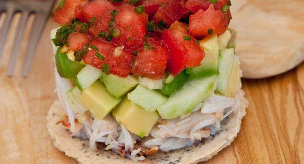 Tartare de crabeVoir la recette du Tartare de crabe >>
