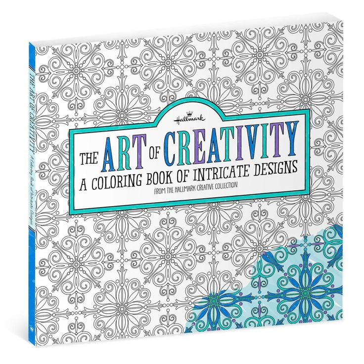 The Art Of Creativity An Adult Coloring Book Filled With Intricate Designs Features Floral