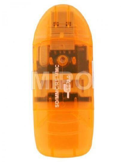 Card Reader 1slot SD / MMC  Card Reader 1slot untuk SD Card atau MMC Card.  Ada tutup pelindung memory.  Harga only rp10.000 Info detail di : www.tokomipo.com