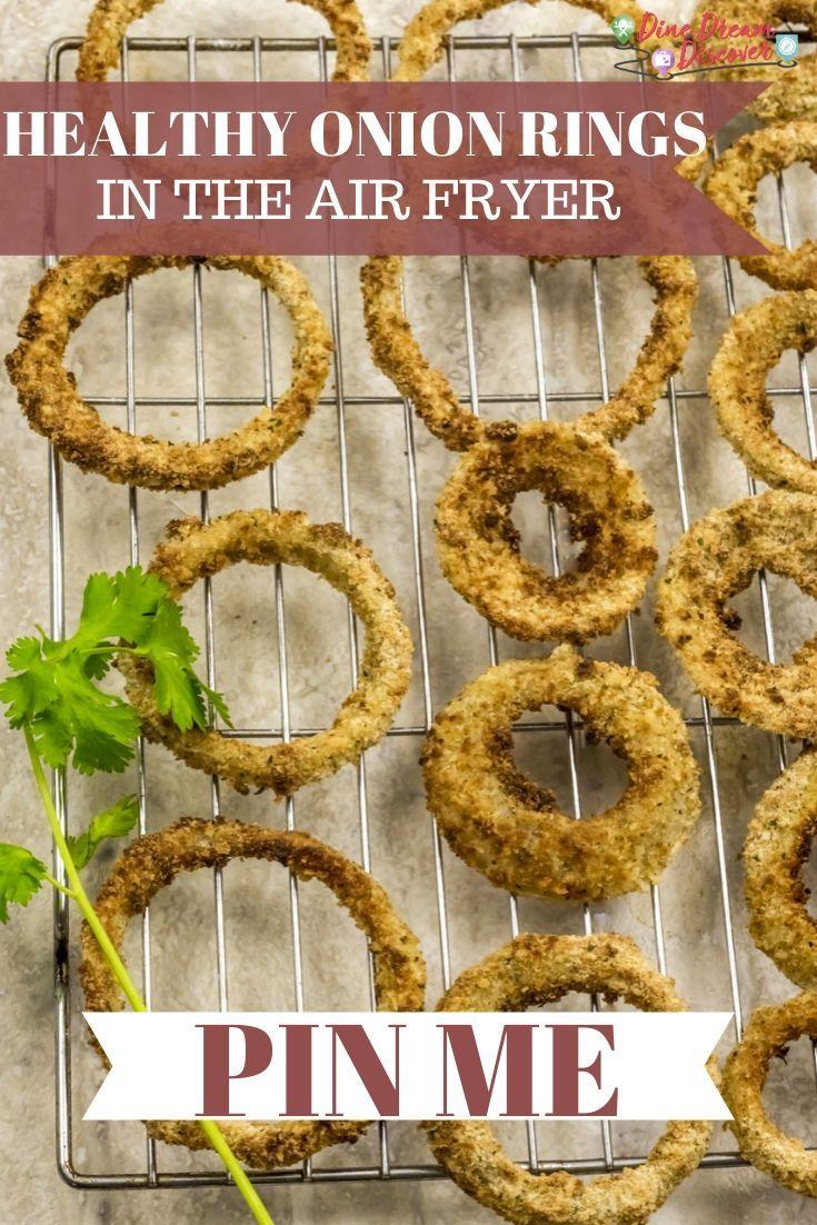 Air Fryer Onion Rings | Recipe in 2020 | Onion rings, Air ...