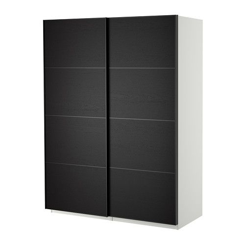 die besten 25 pax schiebet ren ideen auf pinterest ikea pax schiebet r kleiderschrank. Black Bedroom Furniture Sets. Home Design Ideas
