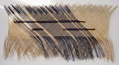 Sonny Hau Harakeke Waeve maori art kura gallery auckland wellington new zealand wall hanging