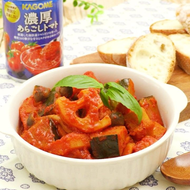 いいね!3,659件、コメント1件 ― DELISH KITCHEN - デリッシュキッチンさん(@delishkitchen.tv)のInstagramアカウント: 「フライパンも鍋もいらない!レンジだけで手軽に本格ラタトゥイユ♪ うまみたっぷりの「濃厚あらごしトマト」を使って、絶品の仕上がりに! 旬の秋野菜をたっぷり使った一品、ぜひ試してみてくださいね!…」