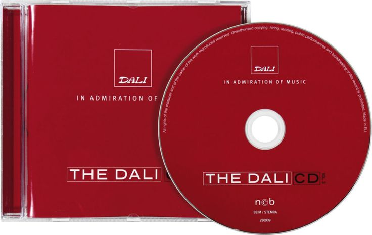 Dali CD Volume 3 Spécial Audiophile - CD sampler audio - CinAudio