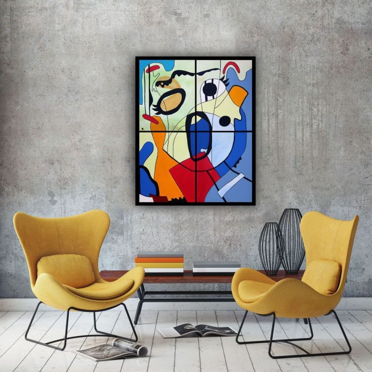 Buy Scream 1, Acrylic painting by Ninah Mars on Artfinder. #art #buyart #homedecor #interiordesign #abstract #painting #abstractpainting #artfinder #arte #contemporaryart #popart