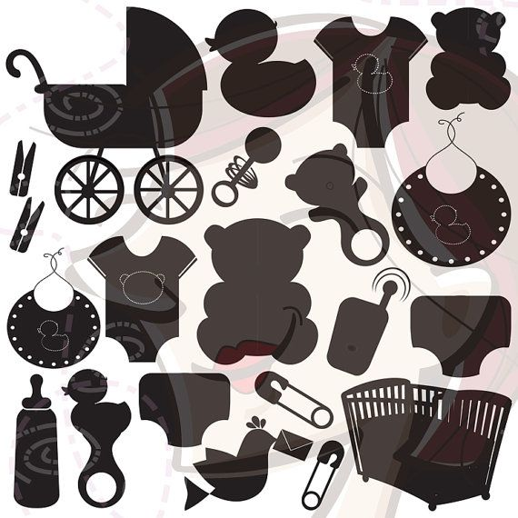 138 best Silhouettes Baby Silhouettes images on Pinterest ...