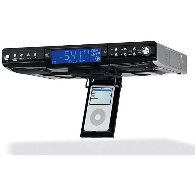ge under counter cd radio and ipod dock from Kitchen Radios Under Cabinet
