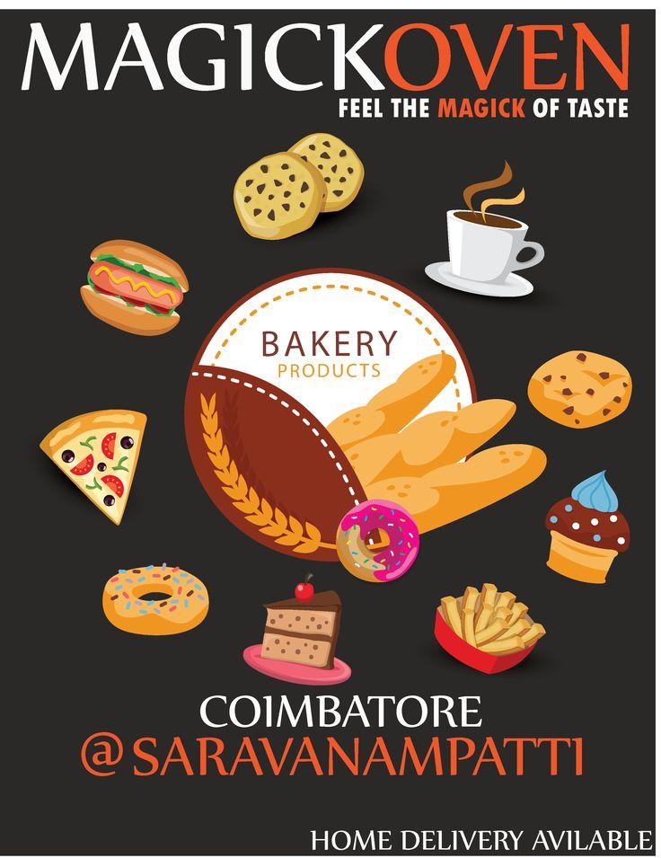 magickoven bakery Coimbatore, Coimbatorebakery,