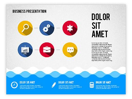 http://charts.poweredtemplate.com/powerpoint-diagrams-charts/presentation-templates/02155/0/index.html Presentation with Icons and Shapes in Flat Style