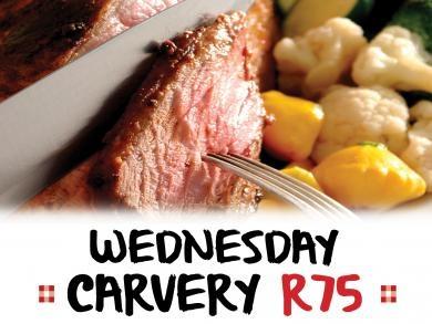 Mikes Kitchen Port Elizabeth - Wednesday Carvery R75