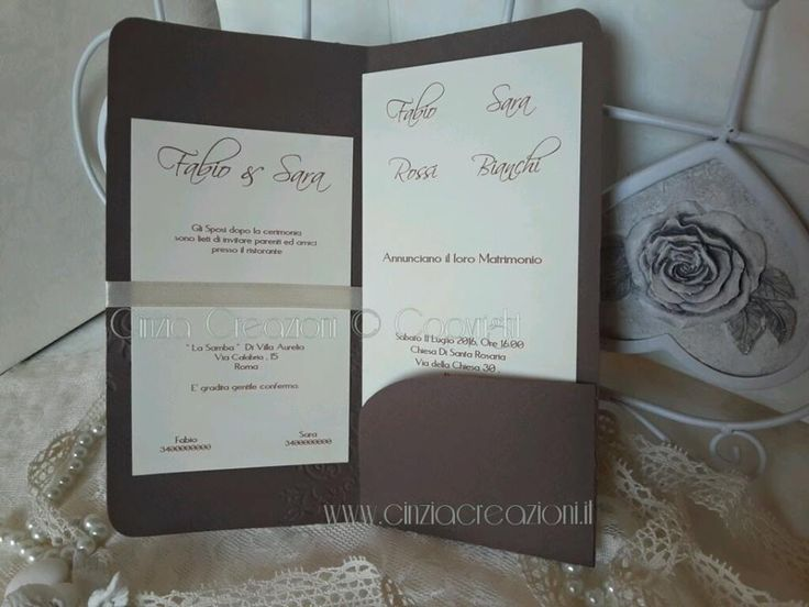Favorito 1053 best Wedding Invitation - Cards - Partecipazioni images on  XY63