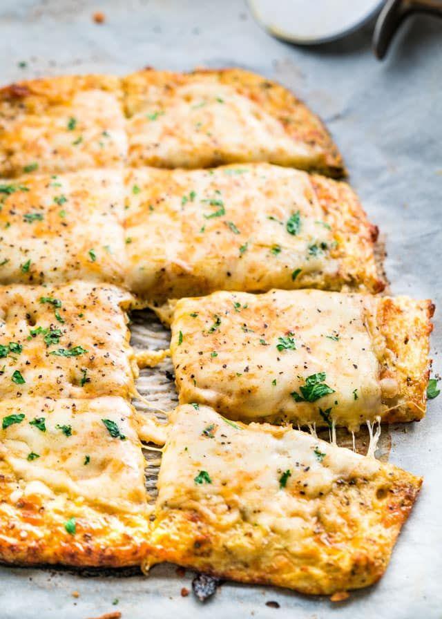 Cauliflower Breadsticks Recipe Food Recipes Cauliflower