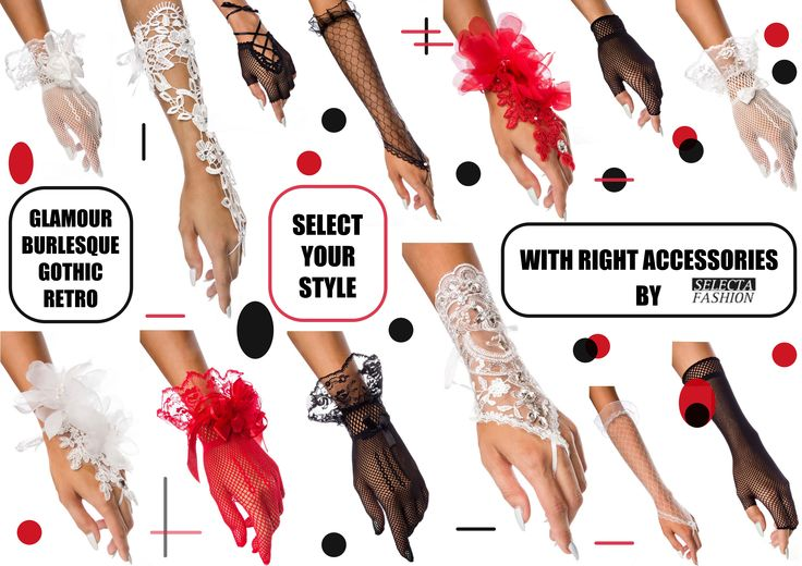 Čo ti outfit doladí,  správnu náladu vyladí? Glamour, gothic a či retro doplnok doladí ťa pestro!