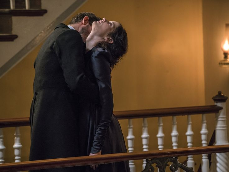 Christian Camargo as zoologist Dr. Alexander Sweet (Count Dracula)/ Eva Green as miss Vanessa Ives in Penny Dreadful Season 3 ep: Ebb Tide.