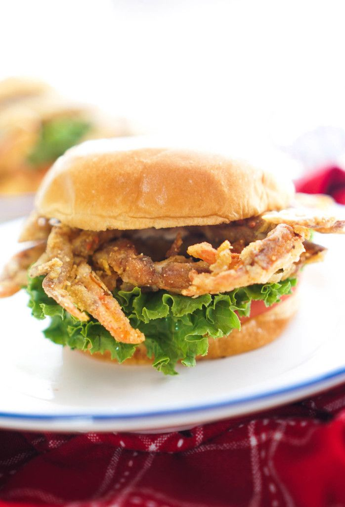 Crispy Soft Shell Crab Sandwich