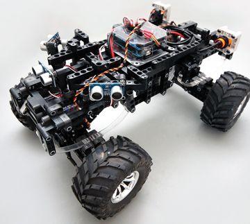 Arduino Autonomous Upgrade Module for MINDS-i 4×4 Robot 3-in-1 Kit | Robot Magazine
