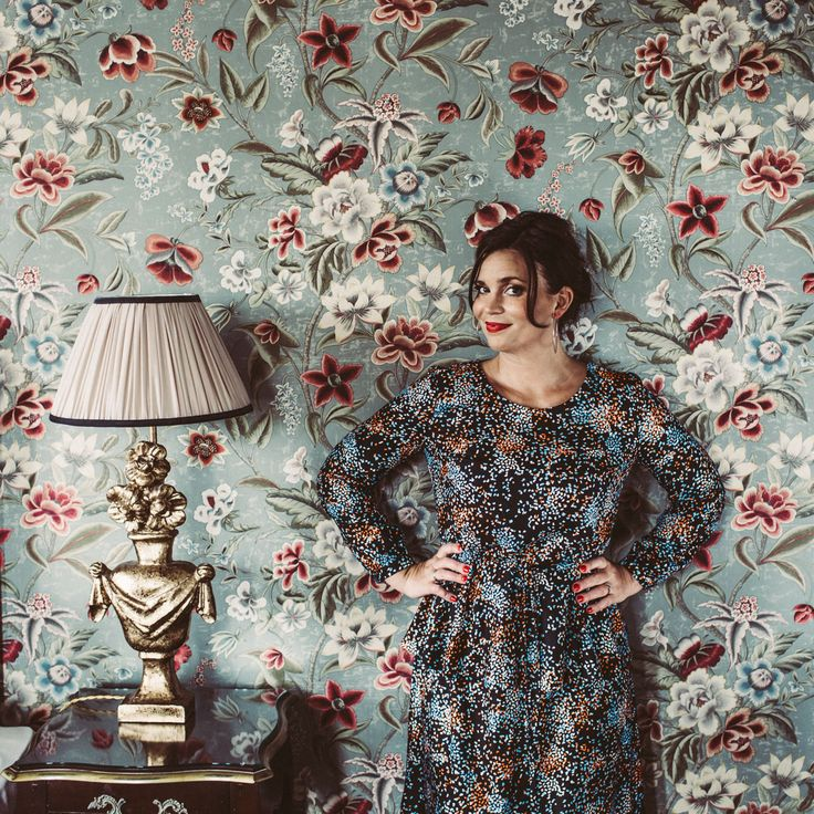 Miss Clarity höstkollektion 2017 Flora Peplum dress plåtat på Hotel Eggers