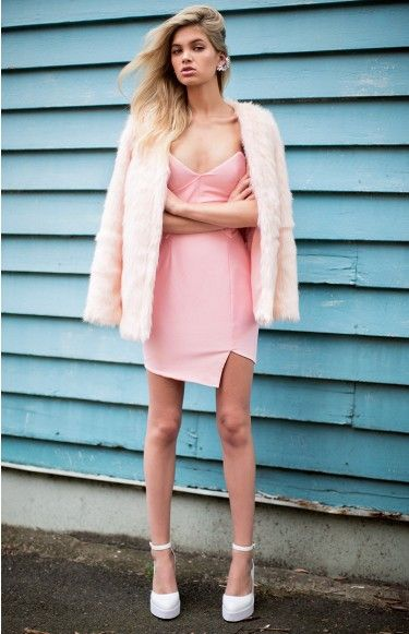 Furry Floss Coat | Beginning Boutique