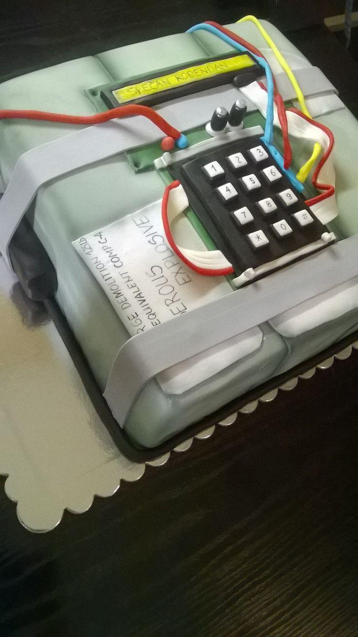 Counter strike bomb cake