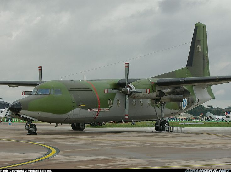 Fokker F-27-400M Troopship aircraft picture