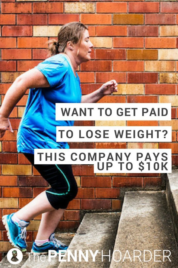 If youve ever wondered if you can get paid to lose weight, the answer is yes. This company will pay you up to $10,000, just for getting more healthy. @thepennyhoarder