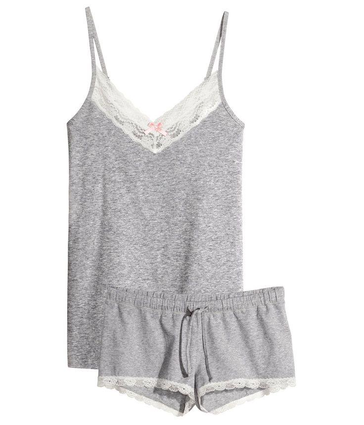 Pajamas. Love! Remind me of warm summer nights.