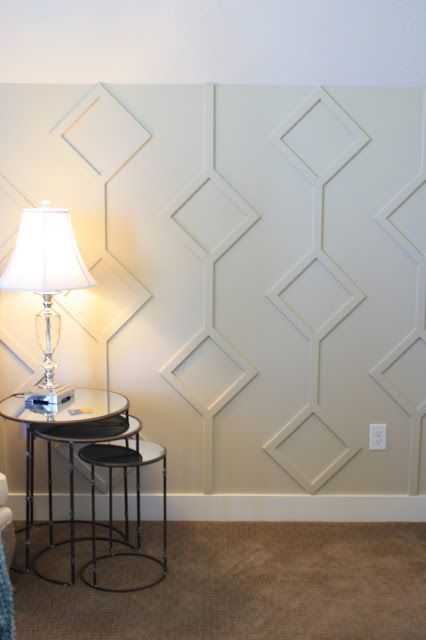 6th Street Design School | Unique Molding Wall Treatment: Utah Valley Parade of Homes - A Feast for the Eyes