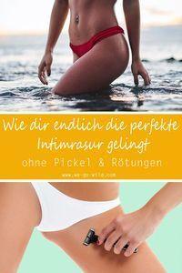 Bikini-Rasur ohne Pickel: Die besten Tipps für die Intimrasur – Kosmetik