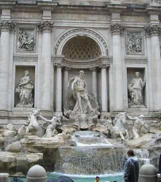 Trevi Fountain, Rome Italy, throw a coin over your left shoulder to ensure you will be able to returnLizzie Maguire, Fountain Rome, Favorite Places, Learning Italian, Left Shoulder, Romans Fountain, Maguire Movie, Future Vacations, Coins Toss