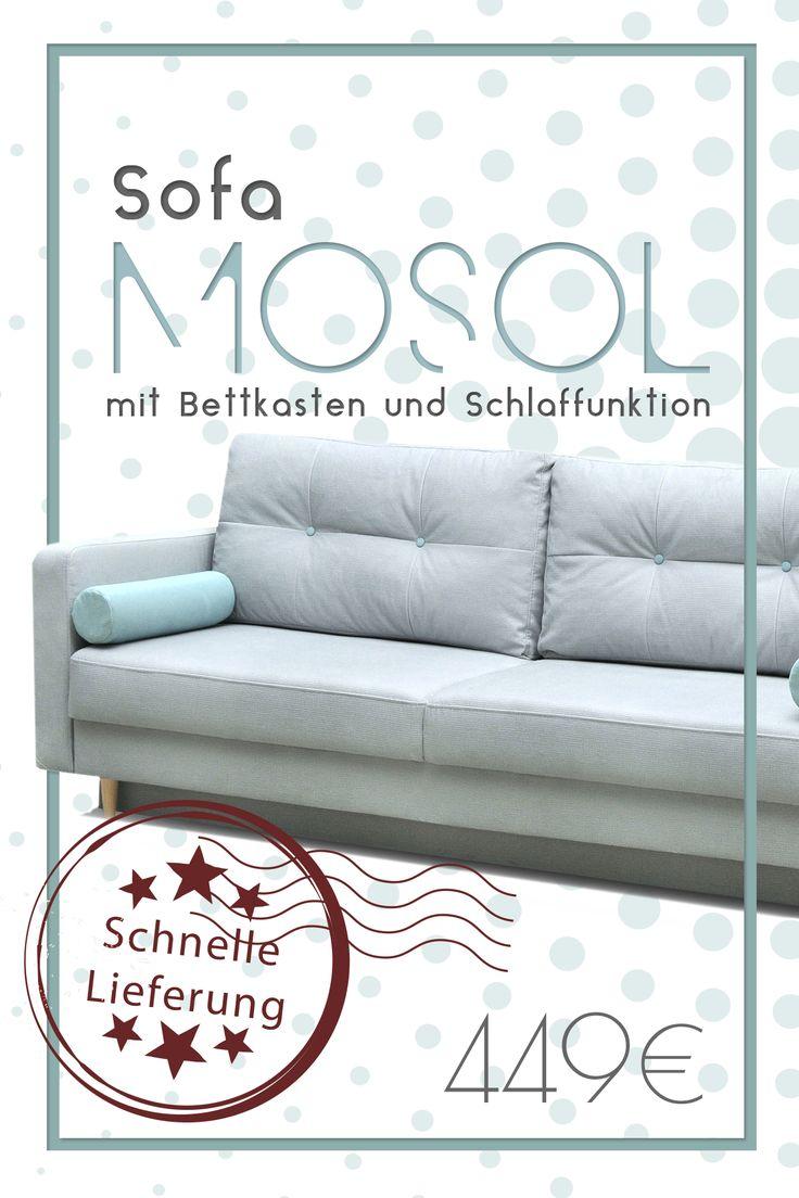 Knarrt Das Alte Sofa Kauf Neu Zum Beispiel Mosol Mit Der Funktion SchlafzimmerWohnzimmerAngeboteCouch