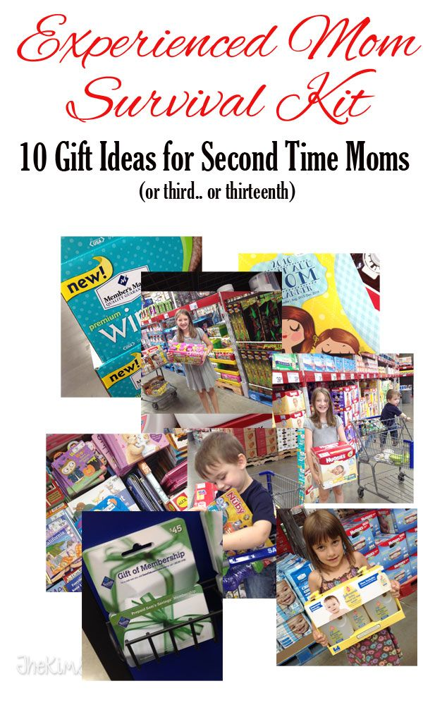 Gift ideas for the 2nd time mom or third fourth for Gift ideas for mom who has everything