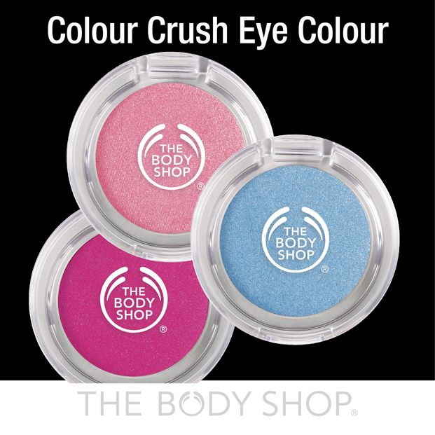 Our Colour Crush Eye Shadows are intensely pigmented, pearlescent OR matt eyeshadows (dependant on the colour), and have silky-soft texture.  They're easy to blend and are great for building layers of colour, too!