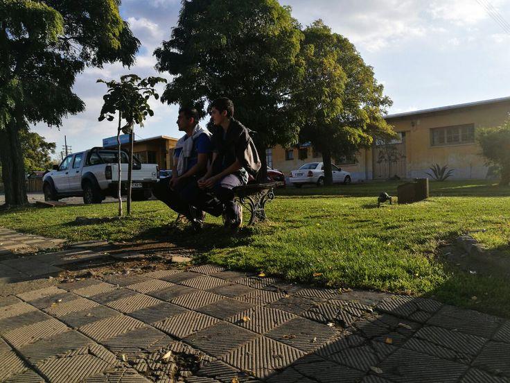 ALTO. Plaza Estación de Ferrocarriles Parral.