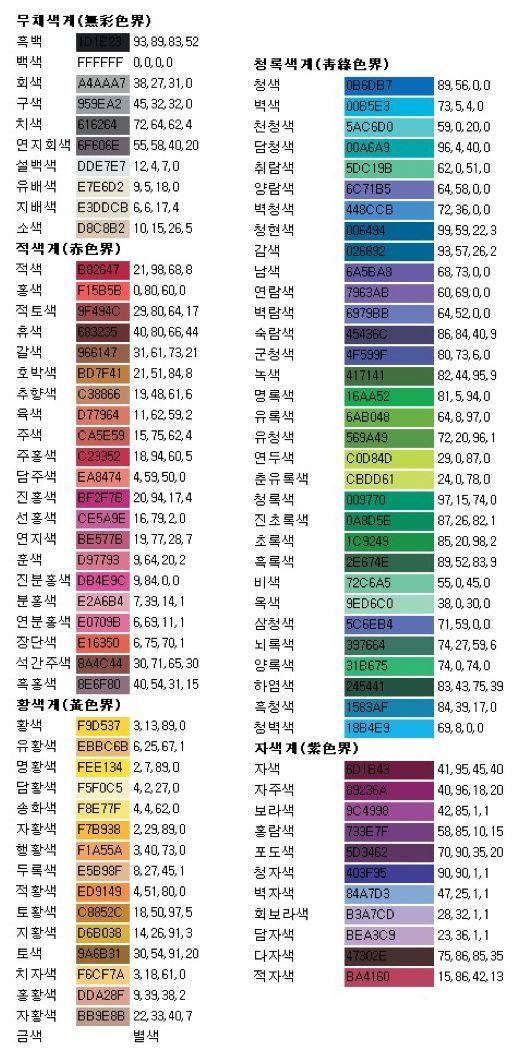 색 :: 한국 전통색