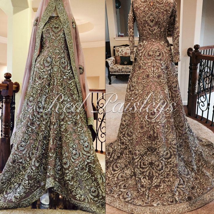 Custom bridal #pakistani bride