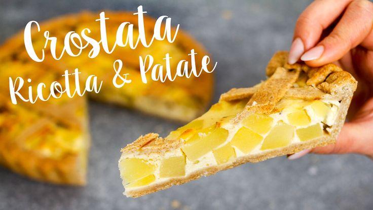 TORTA SALATA con PATATE e RICOTTA | Ricetta FACILE x TUTTE LE OCCASIONI ...