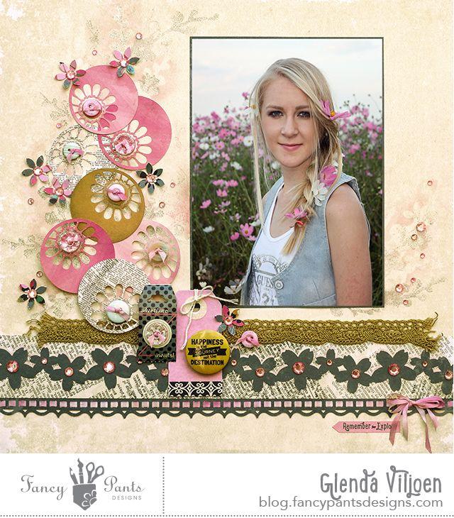 Fancy Pants Designs Studio #scrapbook #layout #girl-Love LO-MUST DO